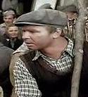 Ryszard Kotys w filmie Sami swoi jako sprzedawca kota na targu