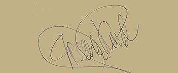 autograf Irena Karel