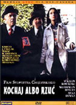 plakat z filmu Kochaj albo rzuć