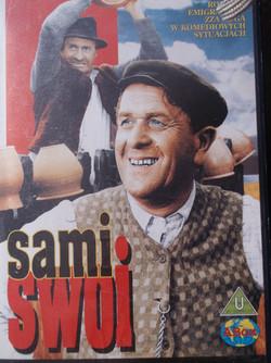 "plakat z filmu ""Sami swoi"""