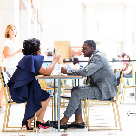 DC Union Station Engagement: Prince & Princess