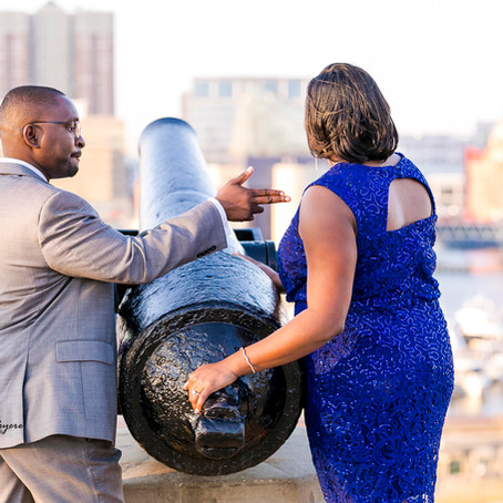 Morgan State University Engagement Session: Ashley and Ezra's Session