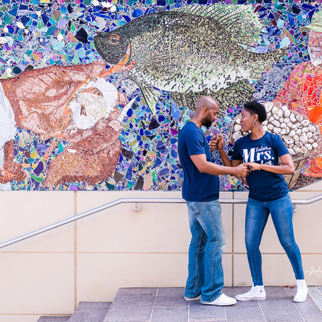 National Harbor MD Engagement Session: Kevin & Shanon