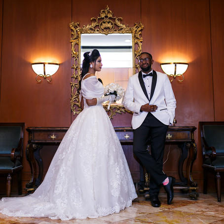 Richmond Omni Hotel Wedding: Mohammed & Reel