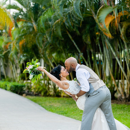 Riu Reggae Resort, Montego Bay- Jamaica Wedding: Mike & Thea