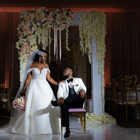 Hamani + Precious - Wedding at FoxChase Manor, Manassas VA.