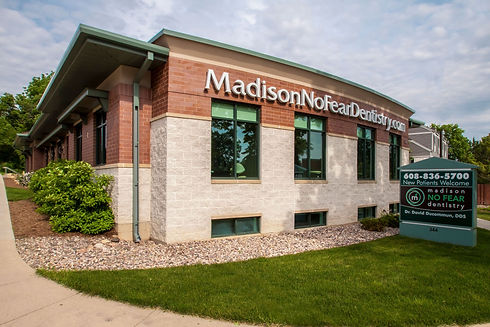 Street View of Madison No Fear Dentistry's state-of-the-art facility.