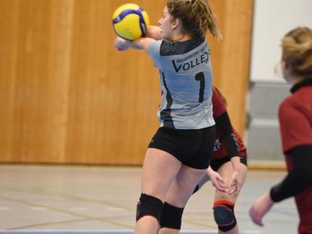 Volleys ohne Power