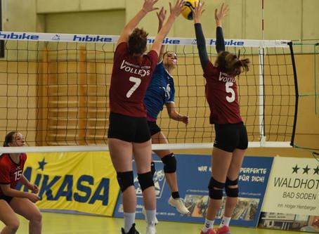 Volleys bleibt die Luft aus