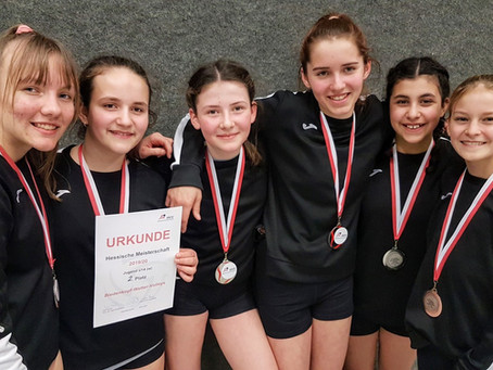 U14 überrascht bei der Hessenmeisterschaft