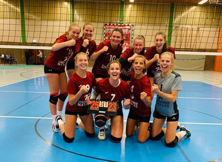 Volleys erkämpfen sich den Sieg