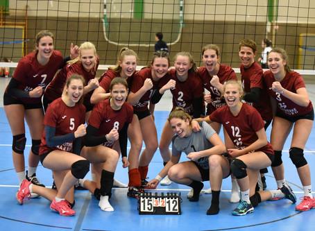 Volleys freuen sich über erste Punkte