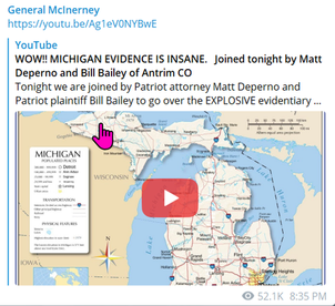 WOW!! MICHIGAN EVIDENCE IS INSANE - Bill Bailey of Antrim Co to go over EXPLOSIVE evidentiary