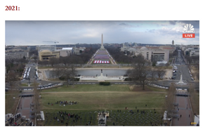'This is What 80 Million Votes Looks Like': Biden Inauguration EMPTY