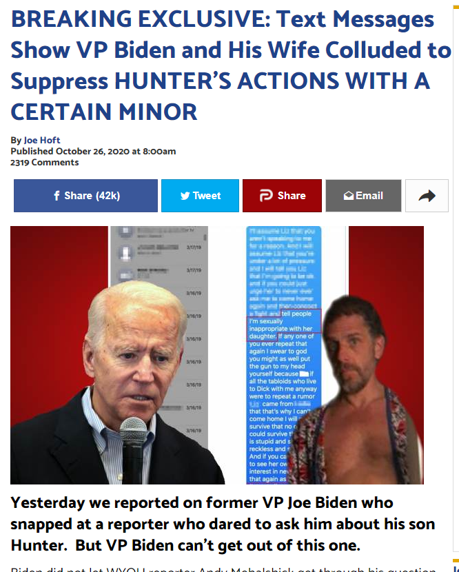 BREAKING EXCLUSIVE: Hunter Biden, James Biden, Former Top