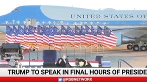 President Donald J Trump Departure Ceremony