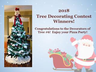 2018 Tree Decorating Contest Winner!