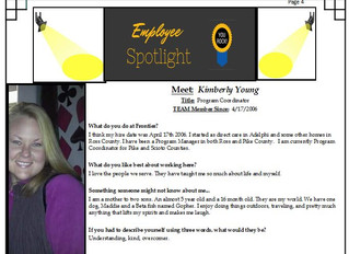 Employee Spotlight:  Kimberly Young