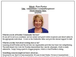Employee Spotlight:  Pam Partee