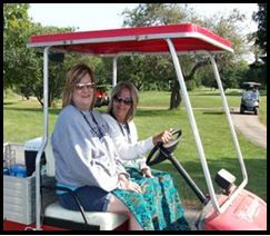 Crystal & Onda Make Sure Golfers & Staff Have All They Need!