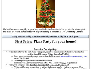 Annual Tree Decorating Contest!