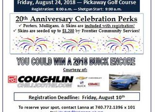 20th Annual Golf Benefit!