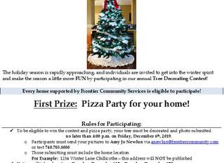 2019 Tree Decorating Contest