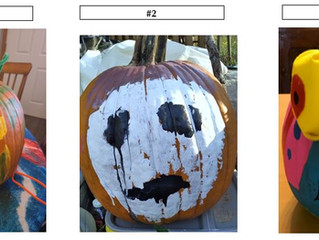 Cast Your Vote! 2020 Happy Harvest Jack-O'-Pumpkin Decorating Contest!