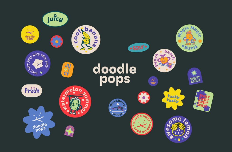 Doodle Pops x Diariocomo