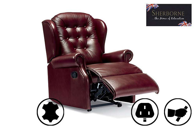 Sherborne Lynton Leather Small Recliner Chair