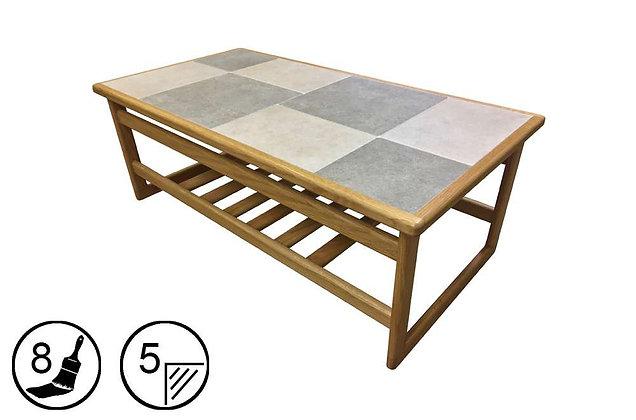 Hanley Large Coffee Table - Tile Top