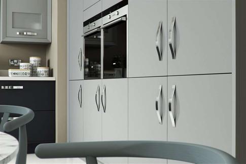 Marpatt Contemporary Collection - Horizon in Grey and Carbon Matt (cameo)