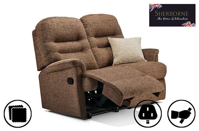 Sherborne Keswick Small 2 Seater Recliner Sofa