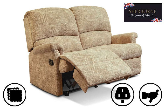 Sherborne Nevada 2 Seater Recliner Sofa