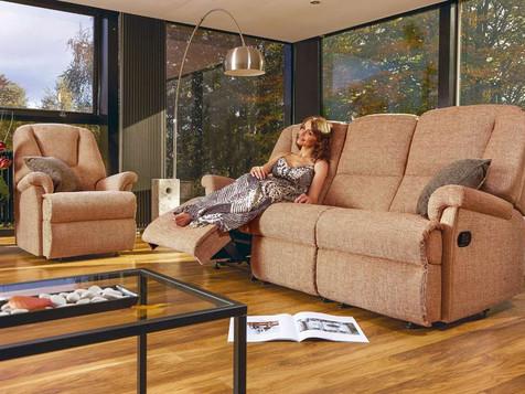 Sherborne Milburn Fabric Sofas & Chairs | Gordon Busbridge Furniture | Hastings, Eastbourne, Seafrod, Bexhill, St Leonards on Sea