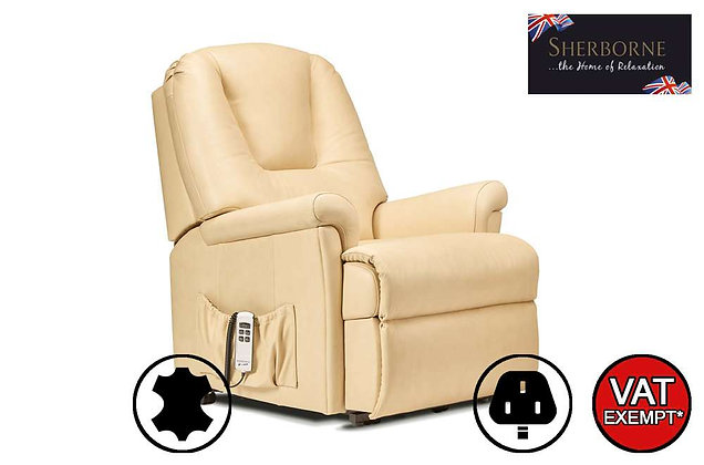 Sherborne Milburn Leather Lift & Rise Care Recliner Chair