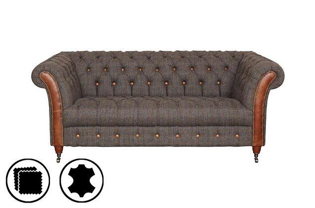 Heritage Cheshire Club 2 Seater Sofa