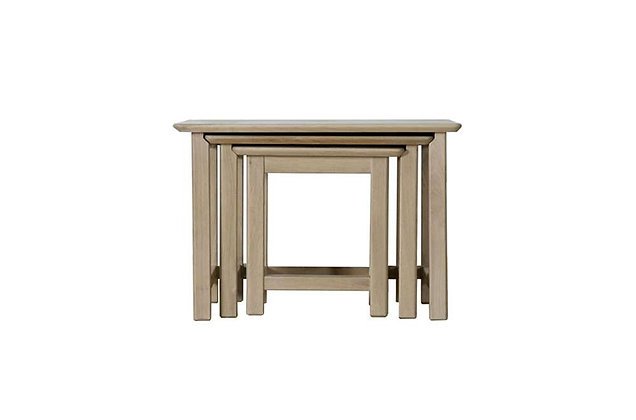Charmwood Nest of 3 Tables