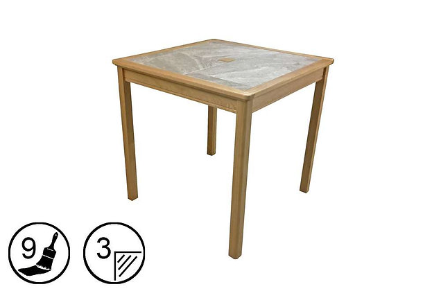 Trentham Small Dining Table - Tile Top