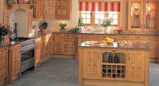 Marpatt Classic Collection - Old Barn Crossbar roomset in Oak