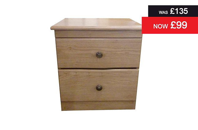 Lyndhurst 2 Drawer Bedside Chest