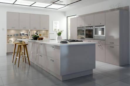 English Rose Modern Fitted Kitchen Collection