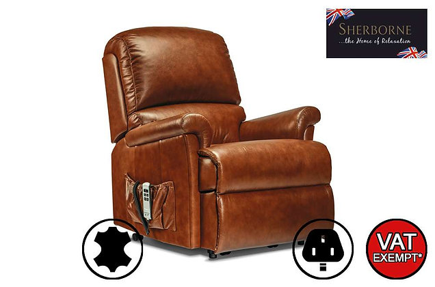 Sherborne Nevada Leather Small Lift & Rise Care Recliner Chair