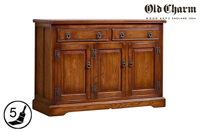 Old Charm 3 Door Sideboard