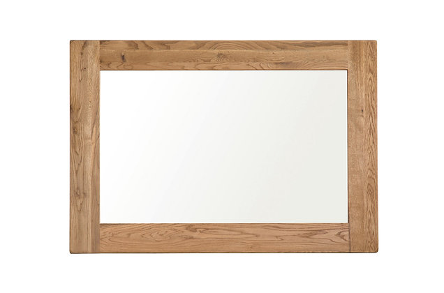 Rustic Charm Large Wall Mirror