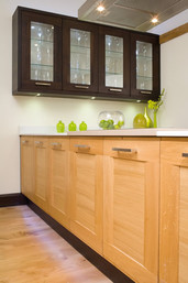 Marpatt Classic Collection - Accent with Nero units and Truffle wall cabinets