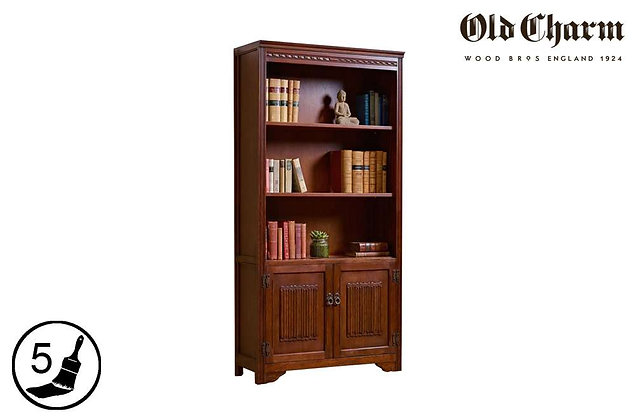 Old Charm 2 Door Bookcase