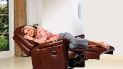 Sherborne Milburn Leather Manual Recliner Chair | Gordon Busbridge Furniture & Beds Store | Hastings, Eastbourne, St Leonards on Sea, Bexhill & Seaford