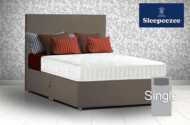 Sleepeezee Superfirm 1600 Single Divan Bed
