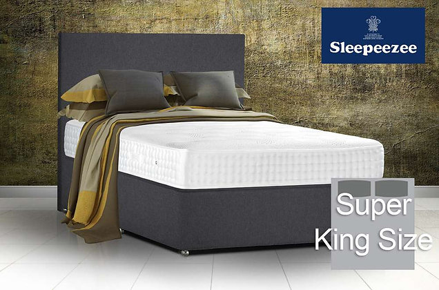 Sleepeezee Royal Backcare 2000 Super King Size Divan Bed